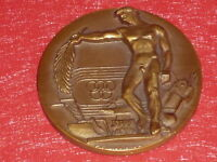 [Coll.DOMARD SPORTS] MEDAILLE BRONZE JEUNESSE & SPORTS OLYMPIC GAMES LONDON 1948