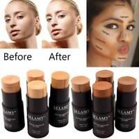 Foundation Makeup Cover Contour Face Concealer Stick Moisturizer Hide Blemish