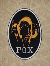Metal Gear Solid Kojima Foxhound Fox Hound Fox Patch/ Badge/ Logo