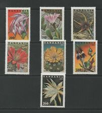 Thematic Stamps Flowers - TANZANIA 1995 FLOWERS 7v mint