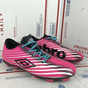Umbro Youth Arturo 2.0 Pink Soccer Cleats KM8D6 Size 6