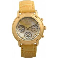Krug Baumen 150574DL Ladies Principle Diamond Chronograph Watch NEW
