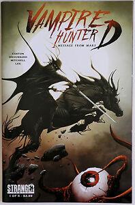 Vampire Hunter D Message From Mars #1 Variant B Jae Lee Stranger Comics Kikuchi