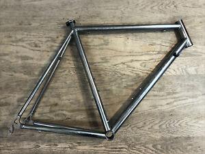 Sampson Silverton Titanium Road Bike Frame TST Sandvik USA 56cm