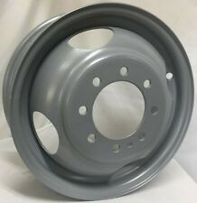 16 Inch 8 on 6.5 Silver Steel Dual/Dually Wheel  Fits F350 1984-1997 WE6303T