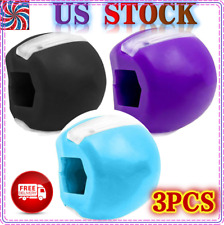 3xJaw line Exerciser Top Jawzrsize Exercise Fitness Ball Neck Face Toning Jaw
