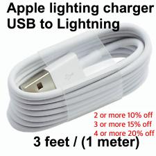 Apple lighting Charging Cable - (3 Feet) iPhone / IPad
