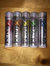 XBalm Lip Balm All Five Flavors Citrus Tropical Ice Orange Mint sealed