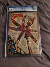 ALL STAR COMICE 42 CGC 1.8. ATOM AND HAWKMAN-DON NEW COSTUMES.