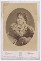 Hector Da Saedeler Bruxelles Belgium Vintage Armadio Albumina Ca 1870