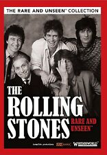 THE ROLLING STONES - RARE AND UNSEEN  DVD NEU