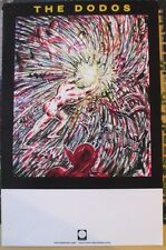 "The Dodos - Self titled album 11""x17"" promo poster"