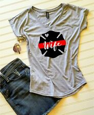 Firefighter Wife shirt, Fire Wife shirt, Firefighter Wife t-shirt