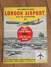 Vintage 1960's London Airport - New Complete Guide & Spotters Guide (No Model)