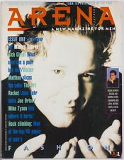 Mickey Rourke Ray Petri Carolina Baker Mark LeBon Joe Orton ARENA MAGAZINE # 1