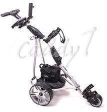Elektro Golf Trolley CADDYONE 400 silber, 300W, 33Ah-Akku inkl. Zubehör
