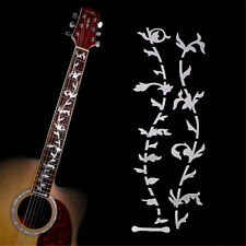 """Tree Of Life "" Inlay White Guitar Sticker Fretboard Marker DIY Vinyl Decal"