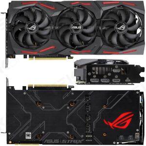 ASUS ROG NVIDIA GeForce RTX 2080 Super 8GB STRIX Advanced Gaming Graphic Card #O
