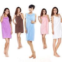 Women Wearable Bath Microfiber Towels Shower Bath SPA Wrap Body Bathrobe-Beach
