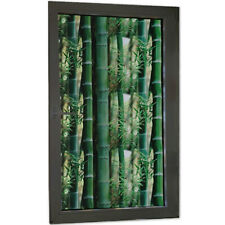 3D Bamboo Privacy Static Stickers DIY Frosted Glass Window Films No Glue Decor