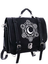 Restyle Moon Messenger Bag Backpack Tas Rugzak Gothic Occult