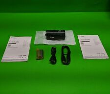 New Sony 8GB HD Digital Camcorder HDR-CX230 w/ Battery **No Charger No SD Card**