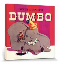 Dumbo - Walt Disney Poster Leinwand-Druck Bild (40x40cm) #78763