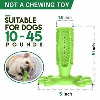Fansun Dog Toothbrush Chew Toy Brushing Stick, Dental Care Teeth Cleaner Medium