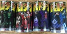Polar Lights Set of 4 Kiss Figures Pre Painted NEW & SEALED BOXES