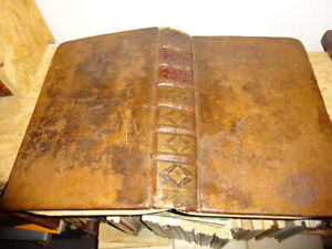MORERI (Louis) - Le grand dictionnaire historique ou le mélange curieux VOL2.