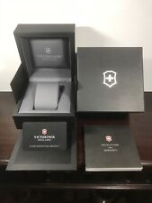 VICTORINOX Empty Watch Display Box Completed with Booklet & Warranty Card Only