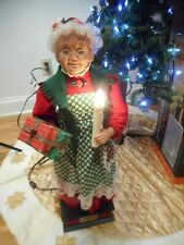 """1994 Holiday Creations 25"""" Mrs. Claus- Animated, Musical & Illuminated-All Work!"""