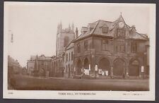 Postcard Peterborough early view of Town Hall RP by Philco 4736