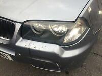 BMW E83 X3 PASSENGER SIDE HEADLIGHT HALOGEN N/S COMPLETE 06-10