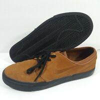 Nike SB Zoom Stefan Janoski Light British Tan Brown Skate Shoes Sz 10.5 333824