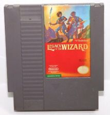 Legacy of the Wizard (Nintendo NES) Cleaned/Tested 3 Screw