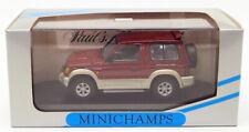 Minichamps 1/43 Scale Model Car 430 163372 - Mitsubishi Pajero SWB Metallic Red