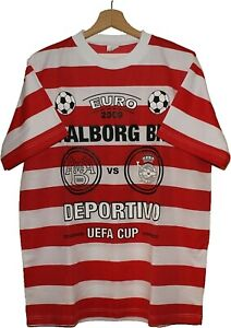 2009 AALBORG BK UEFA Cup Football SHIRT Jersey size XL Tricot Maglia DENMARK