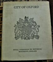 1939 book on Oxford, England with many folding maps, plans, photos & large map