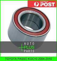 Fits TOYOTA PASSO KGC10 2004-2010 - Front Wheel Bearing 35X64X37