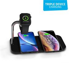 ZEDC05B/00 Zens Aluminium Dual Wireless Charger for apple Watch 2 phones 10W