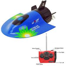 Radio Télécommandé Mini RC Sous-marin Bateau Course Jouet Submersible