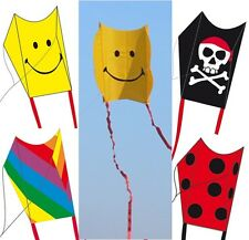 Kinderdrachen Mini Sled Smiley Regenbogen Pirat Flugmatte Flug-Drachen CIM