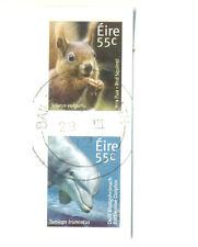 Ireland-Squirrel-Dolphin 2 values self-ad fine used(2092/3)