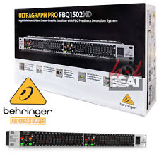 Behringer Ultragraph Pro FBQ1502HD Dual 15 Band Equalizer 748252153241 110-240 V
