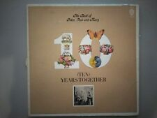 Peter, Paul and Mary - 10 Years Together, vintage LP 1970