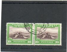 SG 84 SOUTH WEST AFRICA. 10/- FINE USED PAIR CAT £55
