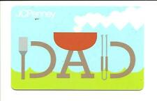 J C Penney Dad Barbeque Gift Card No $ Value Collectible JCPenney Fathers Day