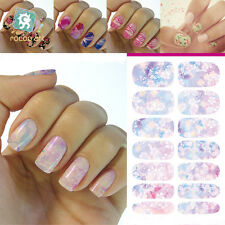 3D Beauty Nail Art Sticker Water Transfer Stickers Decoration Pink Decals Tips