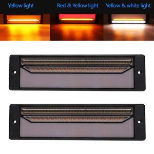 2X Tail Lights DC 12V-24V Brake Reverse 147-LED Trailer Truck RV UTE Waterproof